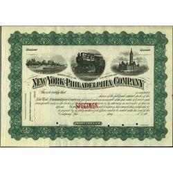 New York - Philadelphia Company.
