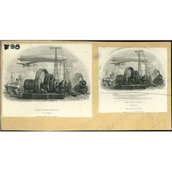 U.S.; Foreign. Zeppelin and Airplane Vignettes Us