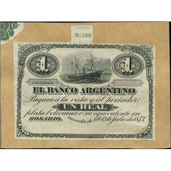 Rosario, Argentina. El Banco Argentino.