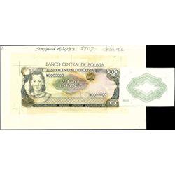 Bolivia. Banco Central De Bolivia.