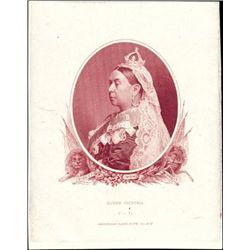 Canada. Queen Victoria Proofs in 3 Different Colo