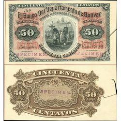 Cartajena, Colombia. El Banco Del Departmento De