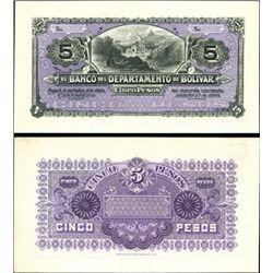 Colombia. El Banco Del Departmento De Bolivar.