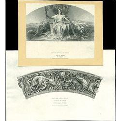 Greece. Greece Banknote Vignette Proofs.