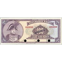 Haiti. Banque Nationale De La Republique D'Haiti.