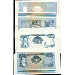 Honduras. Banco Central De Honduras Proof Sheets