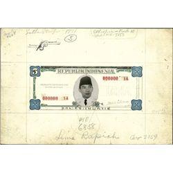 Indonesia. Republik Indonesia Essay Mockup Model