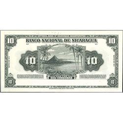 Nicaragua. Banco Nacional De Nicaragua.