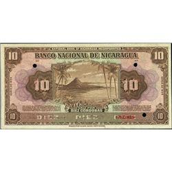 Nicaragua. Banco Nacional De Nicaragua