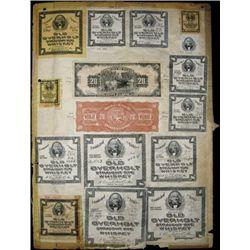 "Panama. Republic of Panama 1941 ""Arias"" Issue Pro"
