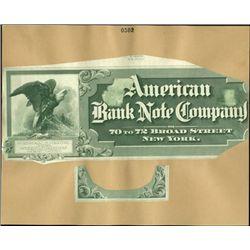 New York, NY. American Bank Note Company Advertis