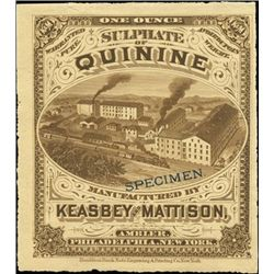 U.S. Early Patent Medicine and Soda Labels (6).
