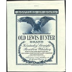 Cynthiana, KY. Old Lewis Hunter Brand Kentucky Wh