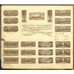 """U.S. Advertising Card with 19 """"Electric Railway"""""""