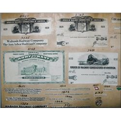 Chicago, IL. Columbian Banknote Co. Proof Sheet f
