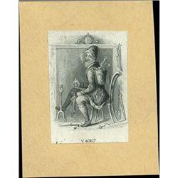 U.S. Santa Claus Vignette Used on Obsolete Bankno
