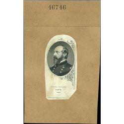 U.S. Civil War General Vignette Proofs