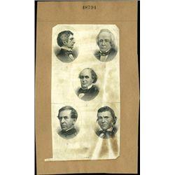 U.S. Large Portrait of Civic War Notables (7).