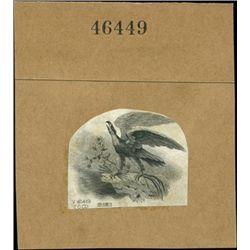 U.S. Early Impressive Patriotic Eagles Used on Ob