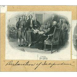 "U.S. Historical Vignettes of Colonial America ""De"
