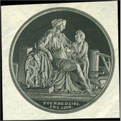 US. Medallion engraved by C. Gobrecht Inventor, E