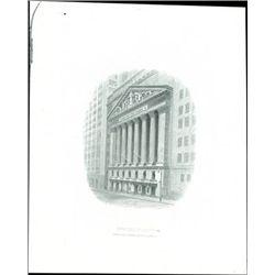 U.S. New York Stock Exchange Vignette.