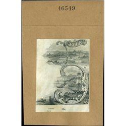 U.S. Ornate '5' and 'V' Vignettes Used on Obsolet