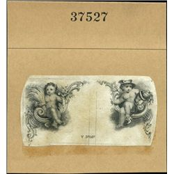 U.S. Group of Cute Cherubs Used on Obsolete Bankn