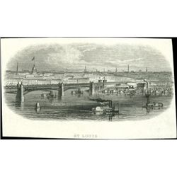 U.S. Vignettes of Early Panoramic Views of Cities