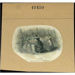 U.S. Women Working on the Farm Vignettes Used on