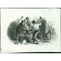 "U.S. Blacksmith Vignettes (6) Including ""The Smit"