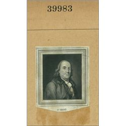U.S. Benjamin Franklin Vignettes #2.