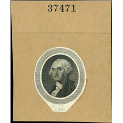 U.S. George Washington Portrait Vignettes and Bat