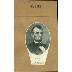 U.S. President Lincoln Proof Vignettes (6).