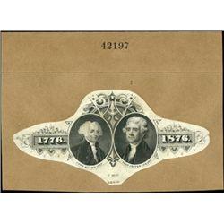 U.S. Presidental Vignettes Used on Centennial Lab