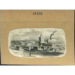 U.S. Early Locomotive and Hrose Drawn Street Car