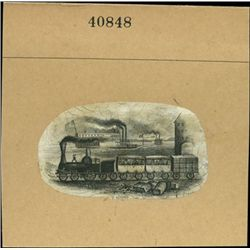 U.S. Vignettes of Early Trains Used on Obsolete C