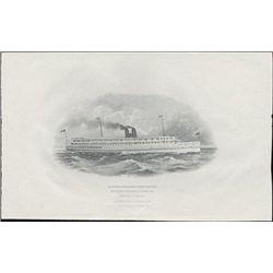 U.S. Vignettes of Large Format Trains & Ships Use