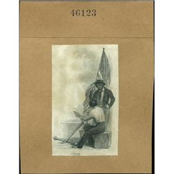 U.S. Early Vignettes of Sailors Used on Obsolete