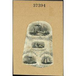 U.S. 2 Compound Proof Miniature Vingette Sheets.