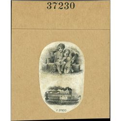 US. Compound Proof Miniature Vignettes with Child