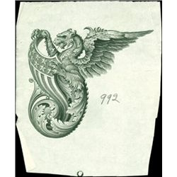 U.S. Ornate Borders and Patriotic Dragons with Am