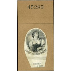 U.S. Young Woman Used on Obsolete Banknotes.