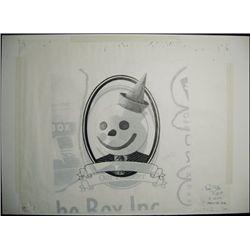 U.S. Original Artwork for Jack In The Box Vignett