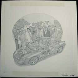 "U.S. Original Artwork of ""Lear Corp"" Vignette Use"