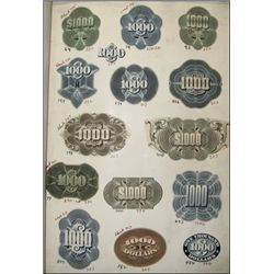 Counters Proof Sample Book,