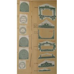 American Bank Note Co. Proof Book of Borders and