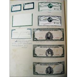 Jeffries Banknote Co. Proof Vignette Book,