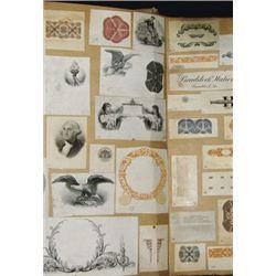 """Republic Banknote Co. Proof Die Book """"Dies 1-3563"""