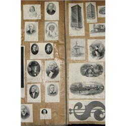 """Republic Banknote Co. Proof Die Book """"Dies 3564-5"""